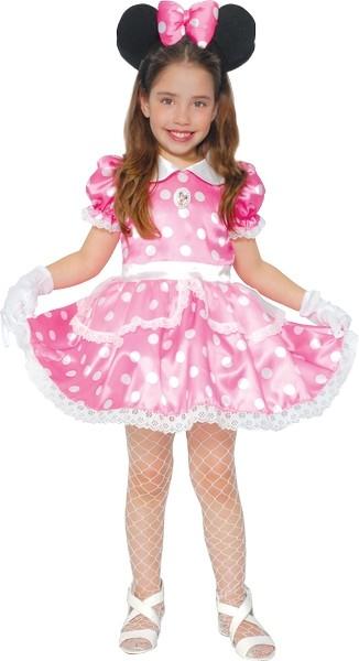 Детский Костюм Минни Маус розовый