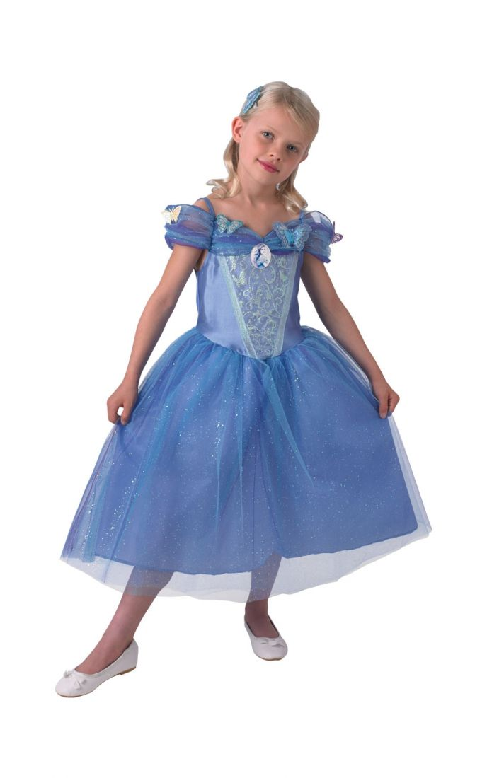 Детский костюм Золушки из кино