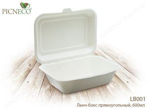 """""""Пикнэко """" Ланч-бокс прямоугольный 600мл LB001"""