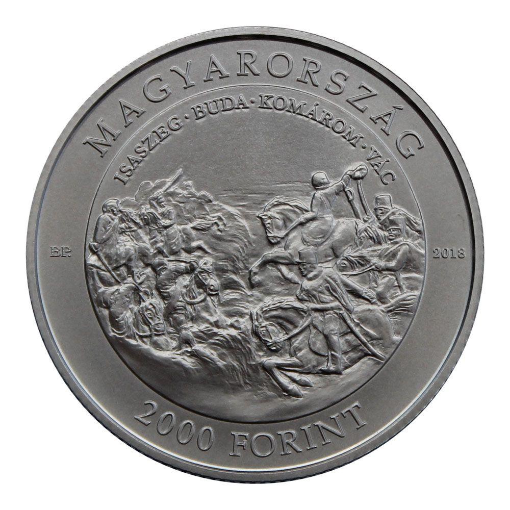 2000 форинтов 2018 Венгрия 200 лет со дня рождения Артура Гёргея