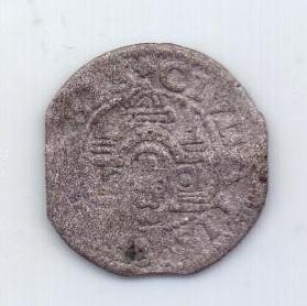 1 шиллинг 1575 года Рига