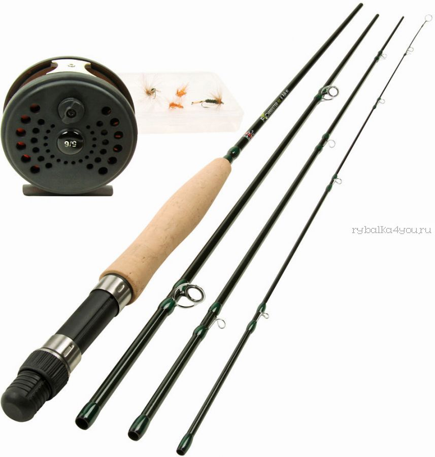 Нахлыст набор DAM Forrester Fly - Allround Fly Fishing Kit - 8PCS
