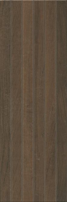 13096R | Семпионе коричневый темный структура обрезной