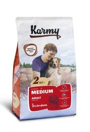 Karmy medium Adult Телятина