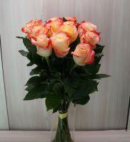 15 роз - Кабарет (60 см)