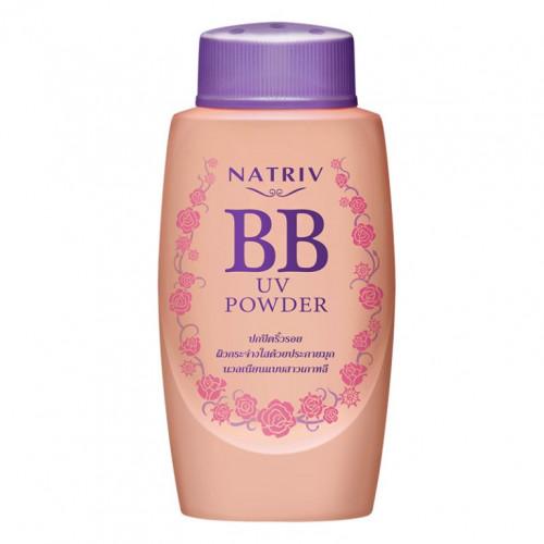 Рассыпчатая пудра BB Powder Natriv с УФО защитой 40 гр