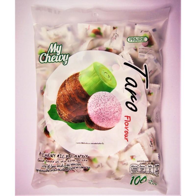 Milk Candy конфеты конфеты сливочные жевательные Молоко и Таро 67 гр