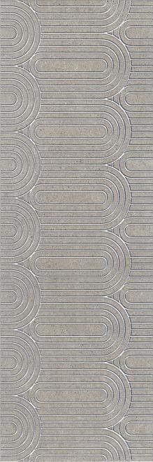 OP/B201/12137R | Декор Безана серый обрезной