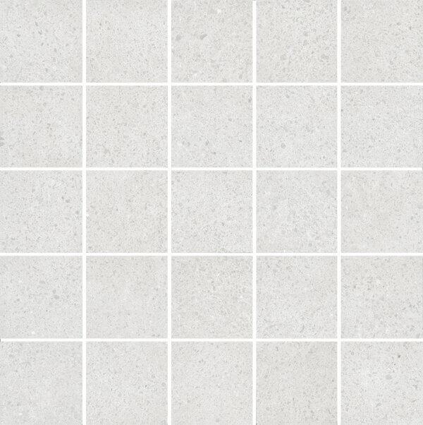 MM12136 | Декор Безана серый светлый мозаичный