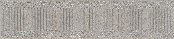 OP/B206/12137R | Бордюр Безана серый обрезной