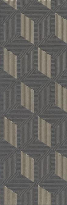 HGD/B428/12144R   Декор Морандо серый темный обрезной