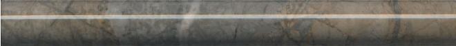 SPB007R | Бордюр Театро коричневый обрезной