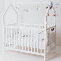 Кровать-домик для новорожденного Ненси Simple Little №58