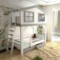 Двухъярусная кровать Домик Roof №33G