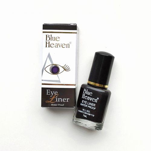 Подводка для глаз натуральная жидкая водостойкая ультра тонкая | Eya Liner | 7 мл | Blue Heaven