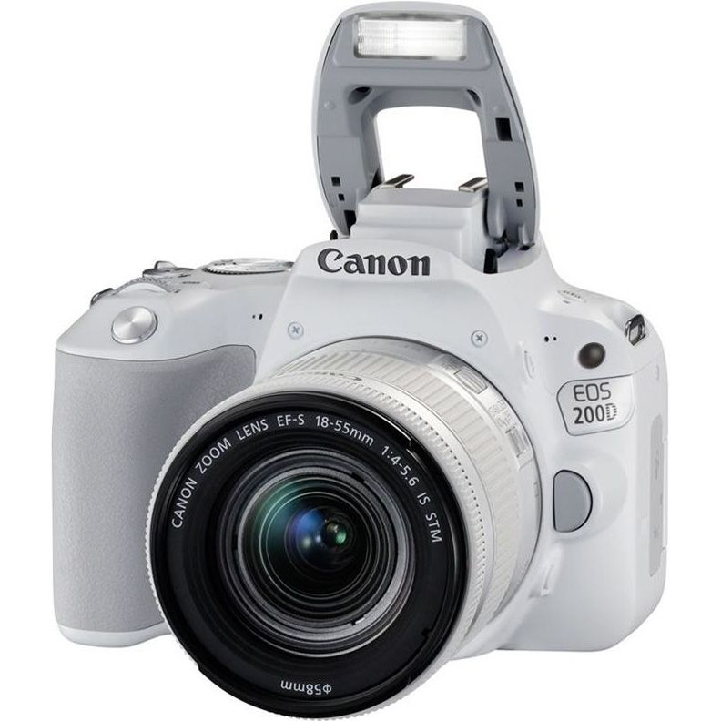 Canon EOS 200D Kit EF-S 18-55 mm f/4-5.6 IS STM White