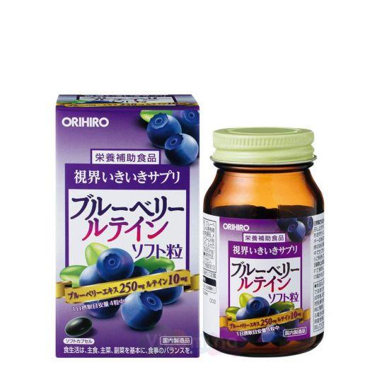 Orihiro Витаминный комплекс с экстрактом черники, 120 капс