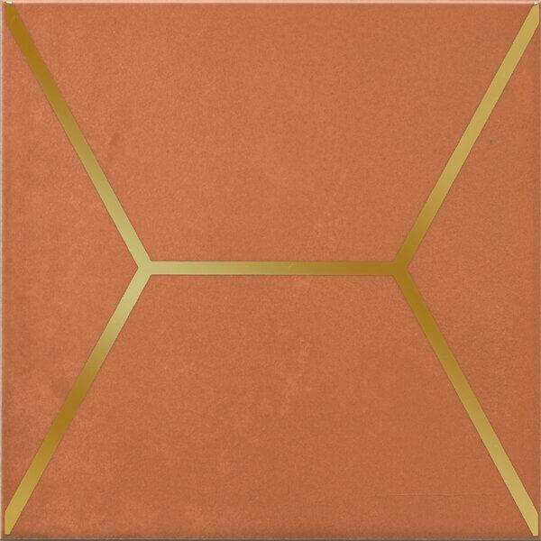 OP/D181/17066 | Декор Витраж оранжевый