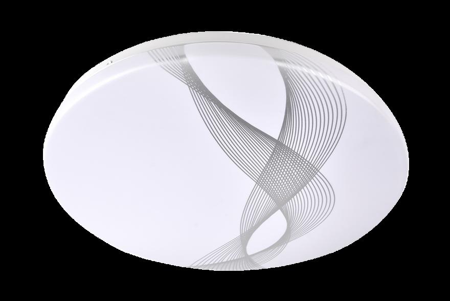 Светильник светодиодный настенно-потолочный Jazzway PPB WAVE 24w