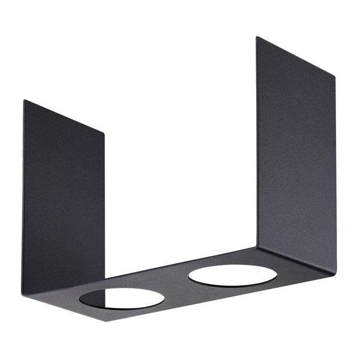 Декоративная рамка NOVOTECH 370507 NT19 028 черная к арт. 370505, 370506 LEGIO