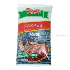 Прикормка Sensas 3000 Carp Rouge 1кг (00821)