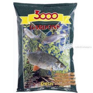 Прикормка Sensas 3000 Gardons 1кг (00761)