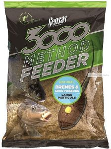 Прикормка Sensas 3000 Method Feeder BREAM & BIG FISH 1кг (70752)