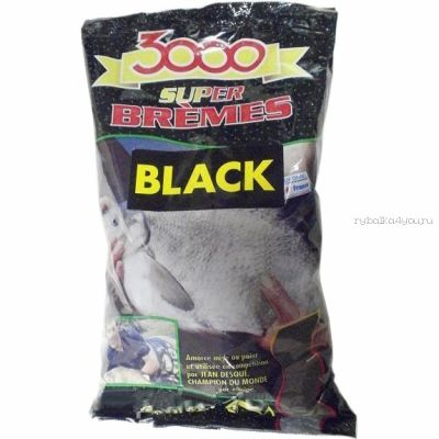 Прикормка Sensas 3000 Super Bream Noir 1кг (04411)