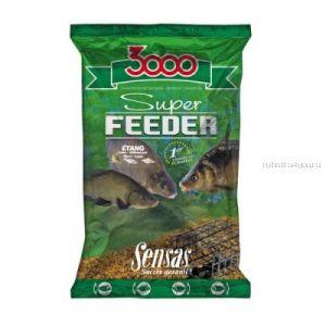 Прикормка Sensas 3000 Super Feeder Big Fish (Крупная рыба) 1кг (10551)