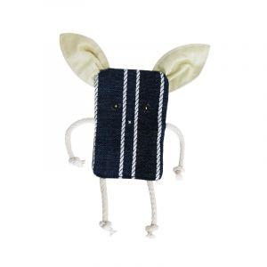 Игрушка для собак шуршащая ПОРОСЕНОК текстиль ZOOEXPRESS