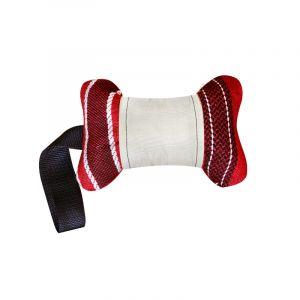 Игрушка  для собак КОСТЬ С РУЧКОЙ  текстиль ZOOEXPRESS