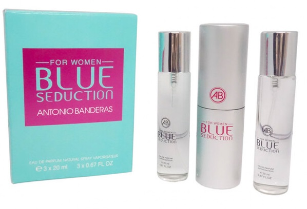 Antonio Banderas Blue Seduction for women 3х20 ml