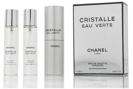 Chanel Cristalle Eau Verte 3х20 ml