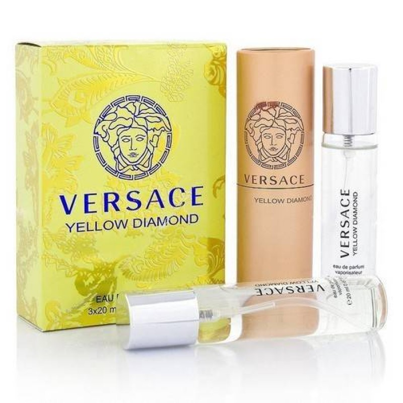 Versace Yellow Diamond 3x20 мл