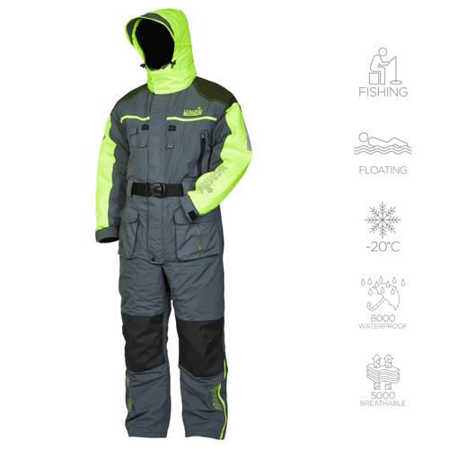 Комбинезон зимний мужской для рыбалки Norfin Signal Pro 434003-L