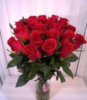 25 роз - Готча (60 см)