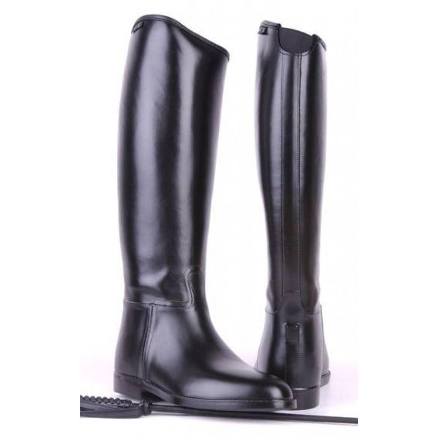 Резиновые сапоги для верховой езды -Damen Standard- Женские. Эластичная вставка. HKM