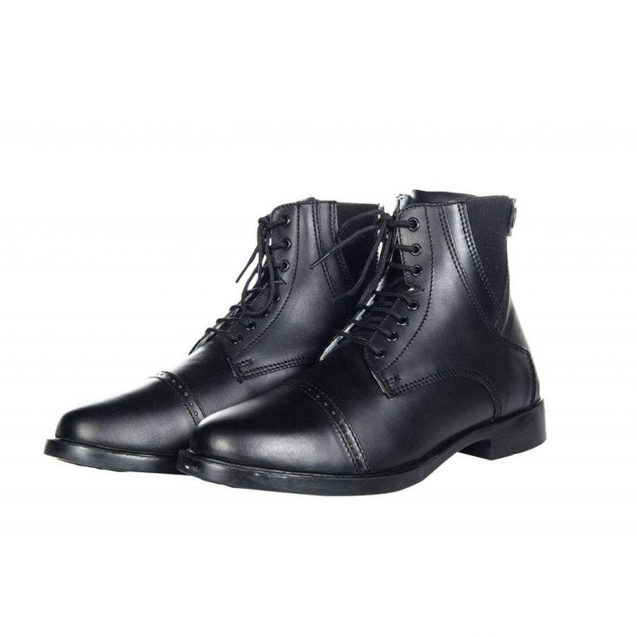Ботинки для верховой езды - London - Шнуровка и молния. HKM