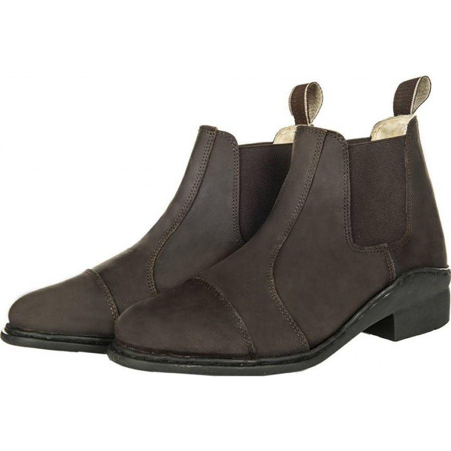 Зимние ботинки для верховой езды -Wax/Teddyfutter- HKM