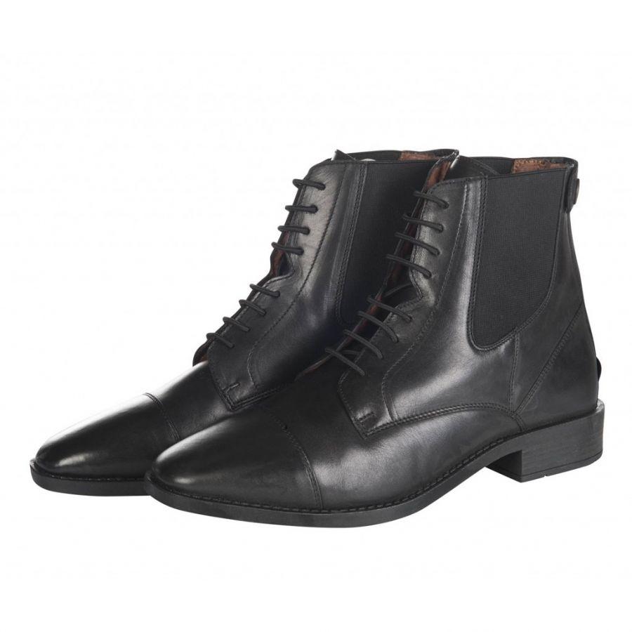 Ботинки для верховой езды -Kentucky- Женские. Шнуровка и молния. HKM