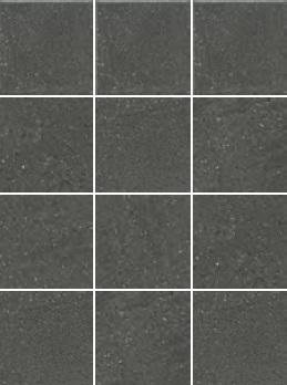 1322H   Матрикс антрацит, полотно 29,8х39,8 из 12 частей 9,8х9,8