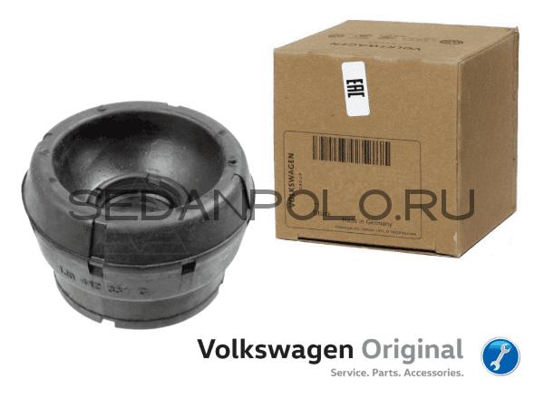 Опора верхняя переднего амортизатора VAG для Volkswagen Polo Sedan