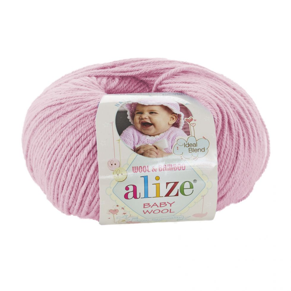 BABY WOOL Alize цвет 185