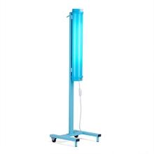 Облучатель дезинфектор передвижной с бактерицидной лампой ПСБО-60, открытого типа, для обеззараживания любых помещений, подставка с колесиками, мощная лампа 60 Вт