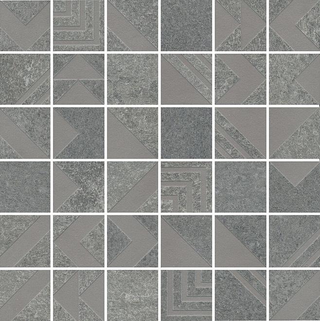 SBM012/DD2042 | Декор Про Нордик серый мозаичный