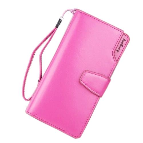 Кошелёк Woman Baellerry Wallet Pu Clutch Bag. Цвет: малиновый.
