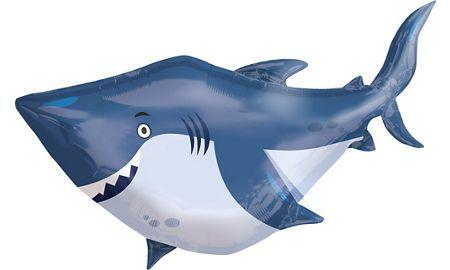 "Шар ФИГУРА/36"" Акула 90 см"