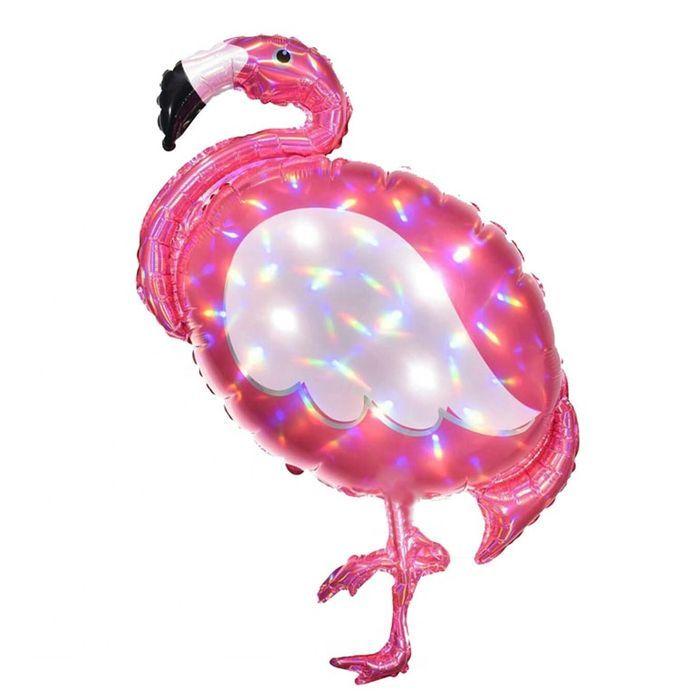 "Шар ФИГУРА/33"" Фламинго 83 см"