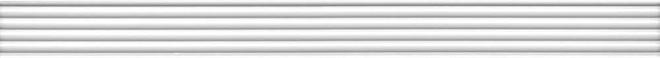 LSA013R   Бордюр Монфорте белый структура обрезной