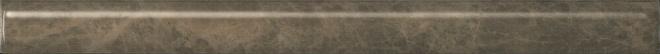 SPA041R | Бордюр Гран-Виа коричневый обрезной